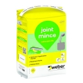Mortier à joints Weberjoint fin gris ciment 5kg