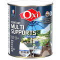 Peinture multi-supports blanc satin 0,5l