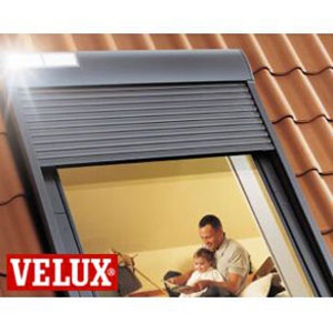 volet roulant solaire 114x118 ssl sk06 velux cambrai. Black Bedroom Furniture Sets. Home Design Ideas